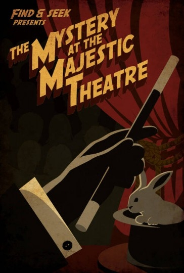 Escape Game The Majestic Theatre, Find and Seek Entertainment. Vancouver.